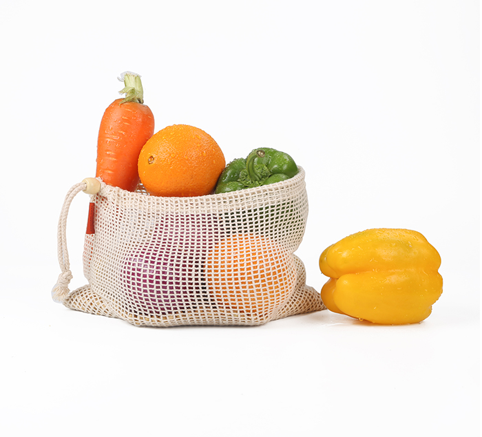 Cotton Mesh Bags 3 pack