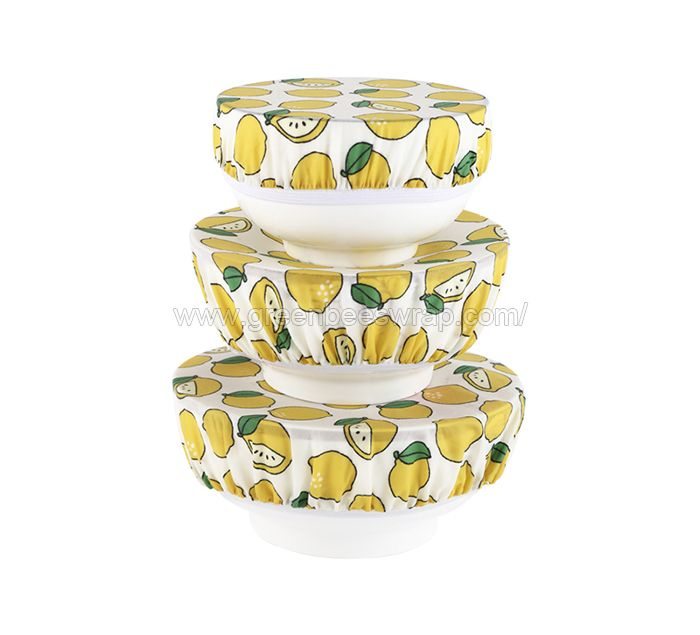 Beeswax Food Bowl Cover With Elastic
